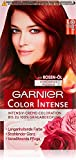 Garnier Color Intense, 6,60 Intensivrot, Intensiv - Creme - Coloration bis zu 100% Grauabdeckung, 3er Pack (3 x 1 Stück)