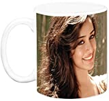 EFW CERAMIC 'BOLLYWOOD ACTRESS - shraddha kapoor (Design 2) WHITE' Coffee Mug