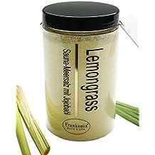 Sauna Salz Lemongrass Meersalz mit Jojobaöl, Körperpeeling 400 g