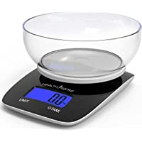 HealthSense Chef-Mate KS 33 Digital Kitchen Weighing Scale & Food Weight Machine for Health, Fitness, Home Baking…
