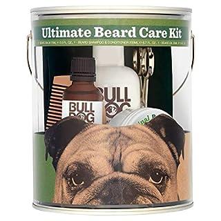 Bulldog Ultimate Beard Care Kit Men Gift Set with Beard Balm, Beard Shampoo and Conditioner, Beard Oil, Comb and Beard Scissors