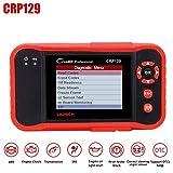 seasaleshop Diagnosewerkzeuge Diagnosegerät Obdii Fehlercode Scanner, Auto Leser, Fahrzeug Code Reader für ENG/at/ABS/SRS EPB/Öl/SAS-Reset X431 CRP 129 CRP 123 Scanner