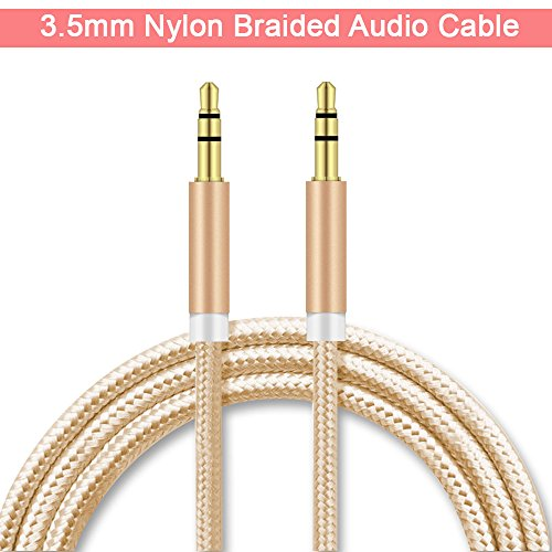 Mobile Gabbar Dvaio Karbonn A1 Plus Champ AUX Cable ( 1 Meter - Alloy Shell Stereo Output )Nylon Braided AUX Audio Cable With 3.5mm for Car stereos, Smartphones, iPod  available at amazon for Rs.159