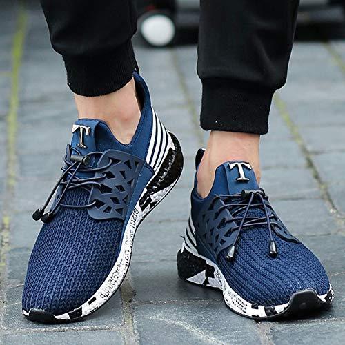 YAYADI Man Sneakers Schuhe Männer Design Laufschuhe Für Männer Trainer Teleskop Seil Weichen Boden Mesh,42 (Reebok Seil)