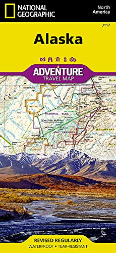 National Geographic Maps - Adventure: Alaska (National Geographic Adventure Travel Map, Band 3117)