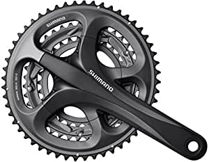 Shimano Ultegra FC- R603 Tandem chainset, 52 / 39/ 30 triple with 40T left, 170 mm