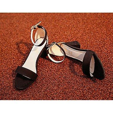 LFNLYX donna tacchi Primavera Estate altri PU Casual Stiletto Heel altre nere Rosa Grigio Beige Light Grey