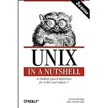 UNIX in a Nutshell: System V Edition, 3rd Edition (In a Nutshell (O'Reilly)) by Arnold Robbins (1999-09-13)