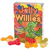 Ladies Lady Women Woman Her - Number One Selling Novelty Jelly Willies - Hilarious Prank - Perfect for Secret Sexy Santa Stocking Fillers Xmas Christmas Birthday Valentines Anniversary Hen Night Party Gift Present Idea - One Supplied