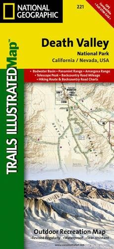 Death Valley National Park: California / Nevada, USA: NG.NP.221 (Trails Illustrated Map)