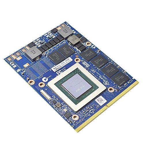 AZrm Gaming Carte vidéo Ordinateur Portable NVIDIA GeForce GTX970M 6GB GDDR5 192bit Carte Graphique vidéo pour MXM VGA Board Kits de Remplacement de Mise à Niveau