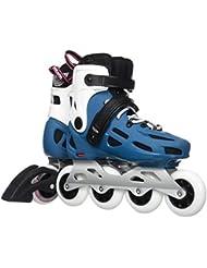 Rollerblade Maxxum 84W Patines en línea, mujer, Maxxum 84 W, Blu Petrolio/Bianco, 250