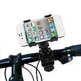 #3: Vheelocityin Bike Bicycle Motorcycle Mobile Cell Phone Holder Mount Bracket Double Clamp