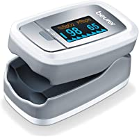 Beurer PO30 Pulse Oximeter, Blood Oxygen Saturation & Heart Rate Monitor, 5 Years Warranty