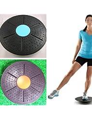 Leoie Tabla de Equilibrio ABS Fitness Equipment 360 ° Rotación Antideslizante Masaje Tablas para Exerción Torsión Torsión Carga Torx 150 kg