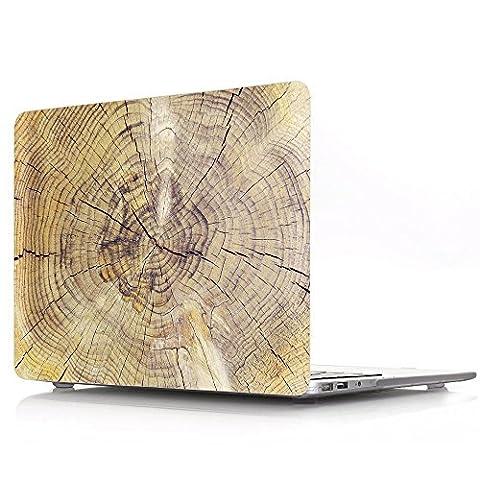 Proelife 2en 1Premium Ultra mince PC Coque rigide Housse de protection et d'une même Motif TPU solide Couvercle de clavier pour MacBook 30,5cm (modèle: A1534) Macbook 12'' Stump