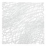 koziol Raumteiler / Dekoelement Silk, Kunststoff, transparent klar, 27.1 x 27.1 cm