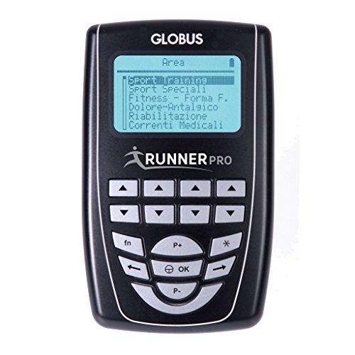 GLOBUS - RUNNER PRO - Electrostimulateur 4 canaux - 254 prog