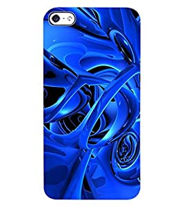 ColourCraft Abstract Image Design Back Case Cover for APPLE IPHONE 4