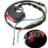 7/8pulgadas universal manillar motocicleta coche indicador luz antiniebla interruptor interruptor interruptor de luz