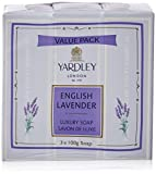 Yardley English Lavender Luxury Soap, 10...