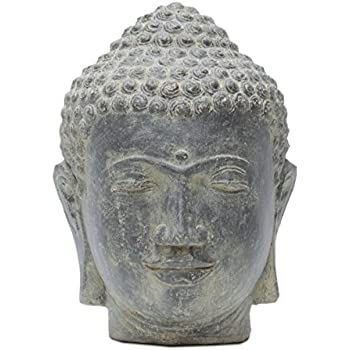 buddha kopf head figur steinfigur skulptur bali garten. Black Bedroom Furniture Sets. Home Design Ideas