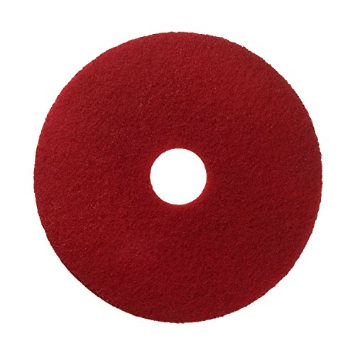 Scotch-Brite Premium Floor Pads (355 mm, 5/Box) - Red