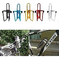 SCRG - Jaula para Bicicleta, con Soporte para Botella de Agua de Aleación para Bicicleta