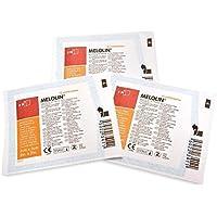 MELOLIN 5cm x 5cm x 100Low sich absorbierende Kompressen–Wunden abnutzungen Verbrennungen preisvergleich bei billige-tabletten.eu