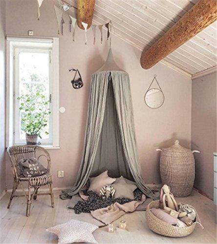 Dome Princess Baldacchino per letto, funge da zanzariera di cotone ...
