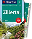 KOMPASS Wanderführer Zillertal: Wanderführer mit Extra-Tourenkarte 1:50.000, 55 Touren, GPX-Daten zum Download - Wolfgang Heitzmann
