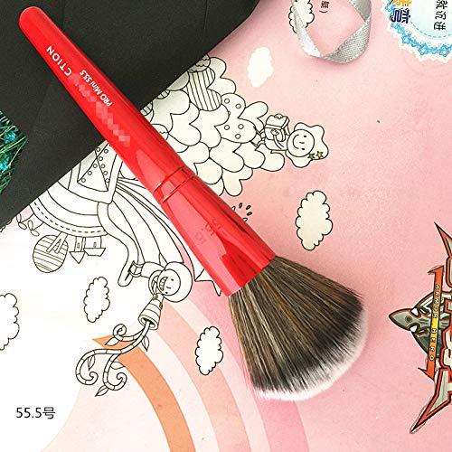 WZNB Make-Up Pinsel 1Pcs Shopkeeper Recommended Red Large Soft Powder Big Blush Flame Brush Foundation Makeup Brush Cosmetic Tool Drop Shipping - Red Powder Blush
