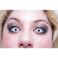 Lentillas de contacto ojo blanco - Única