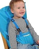 SheShy Baby Sack Portable silla de seguridad original asiento de seguridad silla infantil asiento de viaje cubierta de asiento (Azul Claro)