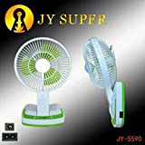 JY SUPER 5590 Powerful Rechargeable Fan ...