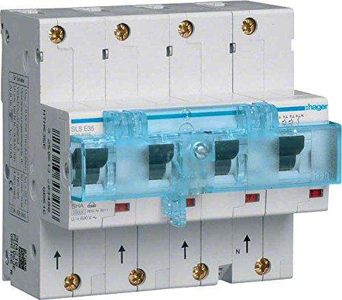 SLS-interruptor 3 P + N E-35A, F, Hutsch. HTN635E