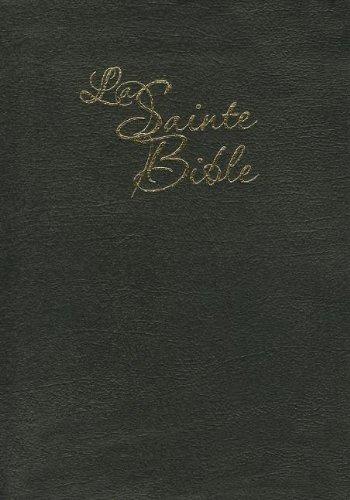 La Sainte Bible : Edition skyvertex noire or par Louis Segond