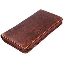 7884c8f267190 STILORD  Emilia  Damen Portemonnaie Elegante Klassische Geldbörse groß aus  echtem Rindsleder