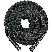 Protone BATALLA Cuerdas / Lucha Cuerdas / 9metres / para el hogar Fitness /EXTERIOR Fitness/ Entrenamiento/ GRUPO Entrenamiento / CROSS Ajustada / lleve GRATIS Bolso