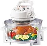 Heissluftofen mit Erweiterungsring 17 Liter Heißluft Ofen Heißluftofen Oven (Heissluftofen)