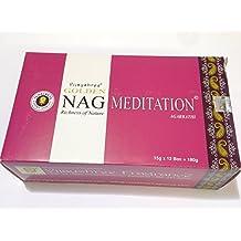 Incienso Nag Meditation pack de 12 cajas 180 varillas de calidad