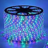 LED Streifen, 20m RGB Led Strip, GreenSun LED Lighting 36 LEDs/m Lichtband Lichterkette Wasserdicht IP57 Lampenband für Außenbereich Party Weihnachten Deko