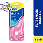Scholl Gel Activ Flat Shoes Insoles, One Size Fits All