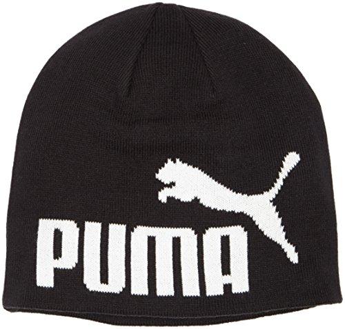 PUMA Mütze Beanie, Black-No1 Logo, OSFA, 834016 51