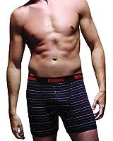 Kickers - Boxer -  - À rayures Homme Noir Black Pinstripe
