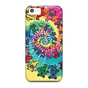 AaronBlanchette Apple Iphone 5c Perfect Hard Phone Case Provide Private Custom Attractive Grateful Dead Pictures [Ulx12143duHb]