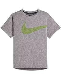 7d4e7d91bf29d Nike Breathe Camiseta Cuello Redondo Manga Corta Poliéster - Camisas y  Camisetas (Camiseta