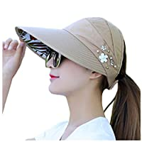 Cappello estivo donna con protezione dai raggi UV - shopgogo d5593612aeeb