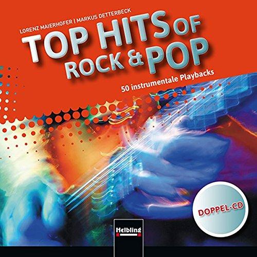 Top Hits of Rock & Pop: Instrumentale Playbacks (Doppel-CD) mit 50 Playbacks -