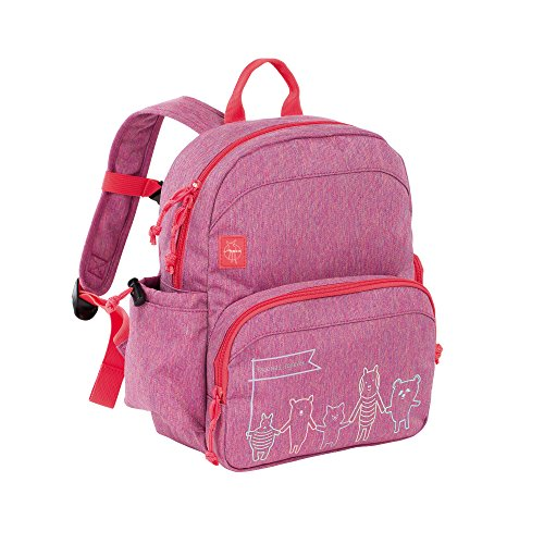 Lässig Medium Backpack About Friends mélange pink Zainetto per bambini, 30 cm, Rosa (Pink)